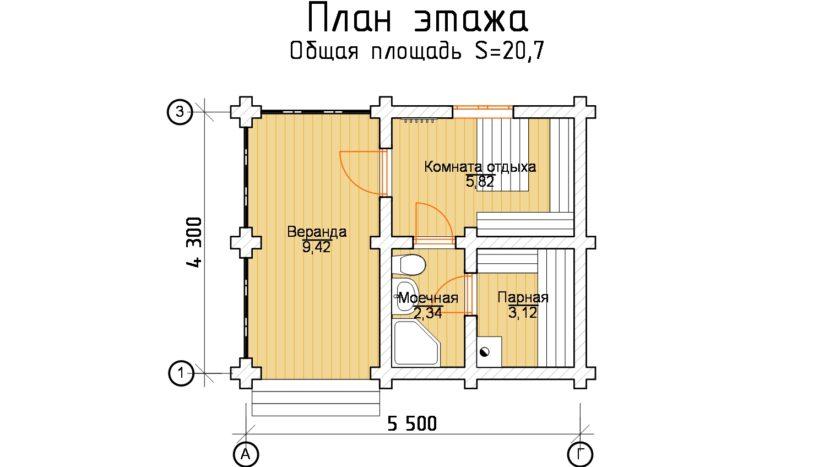 Б 342 план