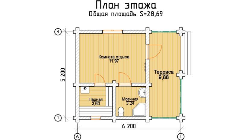 Б 542 план