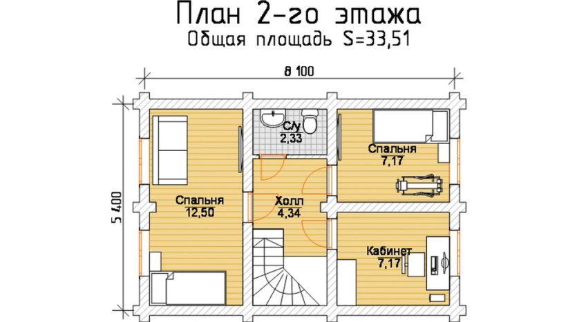 П 606 план 2 этаж