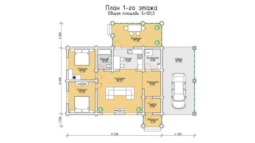 П 929 План