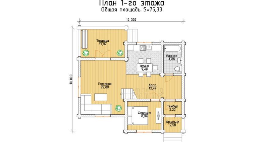 П 449 план 1