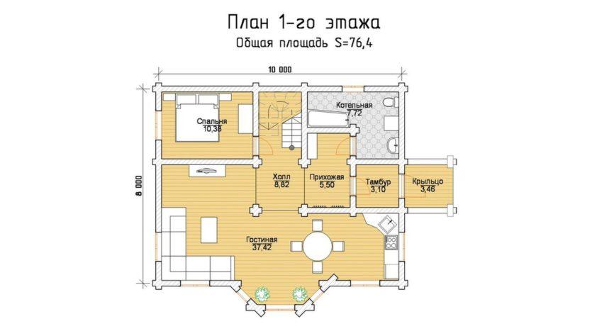 П 451 план 1