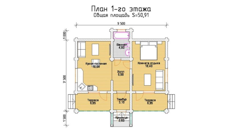 П 545 план 1